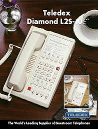 download free pdf for teledex diamond l2s e telephone manual