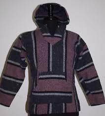 Mexican Rug Sweater Vtg 50s Genuine Mexican Indian Blanket Drug Rug Vest Hoodie Coat