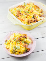 Breakfast French Fry and Egg Casserole Dad With A Pan