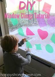craft diy window clings