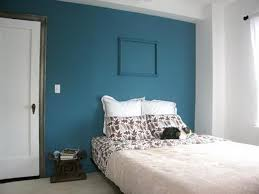 bedroom painting ideas stunning design of blue wall color ideas with brown wooden bed and
