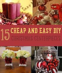 easy christmas centerpiece ideas diy christmas centerpieces