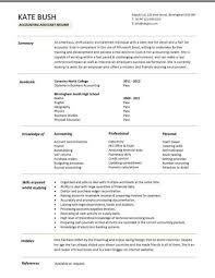accounting resume examples jospar