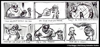 storyboards princess frog u2013 2