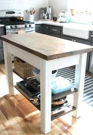 simple kitchen islands distressing kitchen island via simple