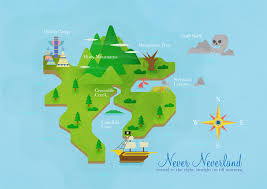 Map Of Neverland The Neverland On Behance