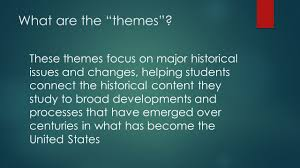themes in ap us history ppt video online download