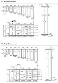 cabinet door sizes chart kitchen cabinet door sizes standard thinerzq me