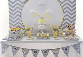 yellow and gray baby shower yellow and grey elephant baby shower anders ruff custom designs llc