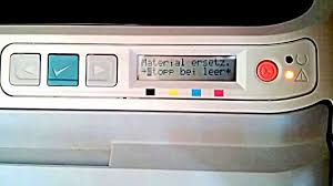 hp color laserjet 2600n reset toner youtube