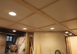 basement ceiling tiles creating a new look upon your basement