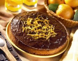 cuisine et mets cuisine et mets gâteau à l orange glacé au chocolat