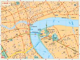 Shanghai Map Shanghai Iscount Hotels Positioned On The City Map