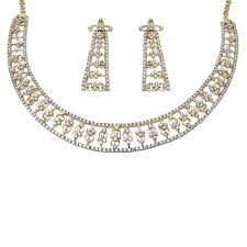 wedding gold sets bridal gold diamond necklace at rs 514000 sitapura