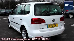 volkswagen car white 2011 volkswagen touran s 1 6l candy white bt61cxj for sale at jcb