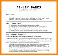 Resume Template Word Doc Word Document Resume Template Free Resume Template And