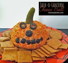 halloween cookbooks halloween recipe jack o lantern cheese ball mommysavers