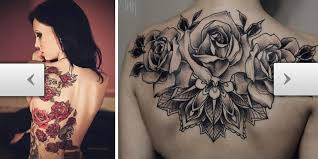tattoos com stunning u0026 tantalizing back rose tattoos