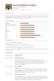 Php Programmer Resume Sample web developer resume samples visualcv resume samples database