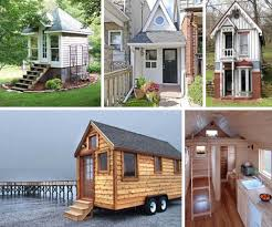 Small Spaces Living Super Tiny Homes Trend Semi Mobile Small Space Living