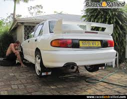 evo 3 spoiler mitsubishi evo 3 rs group a rally car strip and rebuild technical