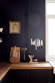 Magnetic Strip For Kitchen Knives Black Kitchen Walls With Invisible Magnetic Strip For Knives And