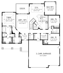 Mountain Home Floor Plans Dobford Craftsman Ranch Home Plan 051d 0684 House Plans And More