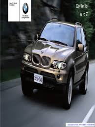 2006 bmw x5 3 0i sav owner manual gasoline trunk car