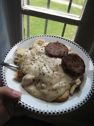easy southern style biscuits and gravy 6 steps with pictures