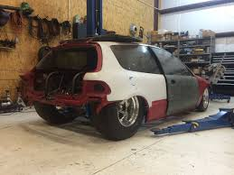 custom honda hatchback turbo v8 powered honda civic update u2013 engine swap depot