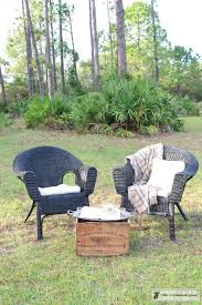 Can You Paint Wicker Chairs How To Spray Paint Wicker Furniture U2013 The Crowned Goat