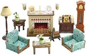 Sylvanian Families Drawing Room Set Amazoncouk Toys  Games - Sylvanian families luxury living room set