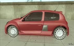 renault clio v6 rally car renault clio v6 for gta san andreas