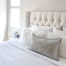 master bedroom upholstered headboard interior design