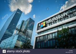microsoft siege ibm watson iot center and microsoft headquater in munich germany