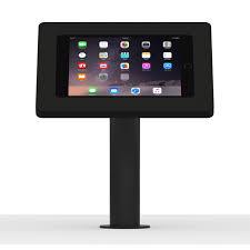 How To Mount Ipad To Wall Ipad Mini 4 Black Enclosure W Fixed Desk Wall Surface Vesa Mount