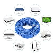 30m blue cat5 rj45 ethernet cable for cat5e cat5 rj45 internet