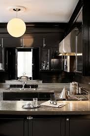 Backsplash For Black Cabinets - kitchen cabinets with concrete countertops design ideas