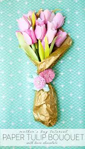 s day flowers gifts s day cheery chocolate paper tulip tutorial chocolate