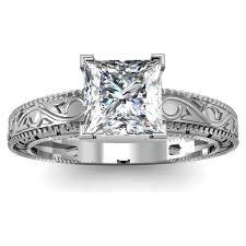 Vintage Style Cushion Cut Engagement Rings 138 Best Engagement Rings Images On Pinterest Antique Engagement