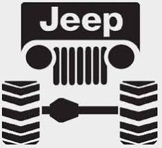 jeep grill logo vector jeep grill silhouette clipart