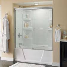 Shower Door Removal From Bathtub Top Bathtub Doors Shower Doors The Home Depot Intended For Glass