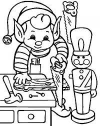 winnie pooh preparing christmas gift coloring pages
