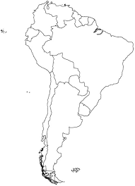 south america map with country names and capitals south america map map of south america worldatlas