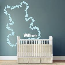 teddy bear wall stickers picture more detailed picture about new new fifty three teddy bears wall sticker personalized baby name free combination of shape baby
