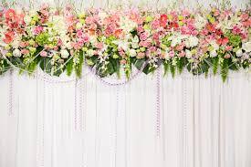 decoration flowers beautiful flower wedding decoration stock photo image of