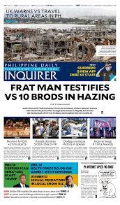 today u0027s paper october 26 2017 inquirer net
