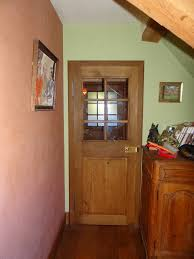 porte interieur en bois massif fabrication artisanale à l u0027ancienne de portes intérieure chêne