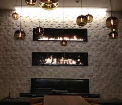 custom u0026 prefab gas fireplaces large multi view see through