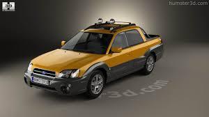 subaru baja 2013 360 view of subaru baja 2002 3d model hum3d store